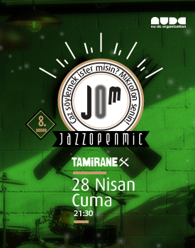 Jazz Open-Mic 8. Sezon / Nisan